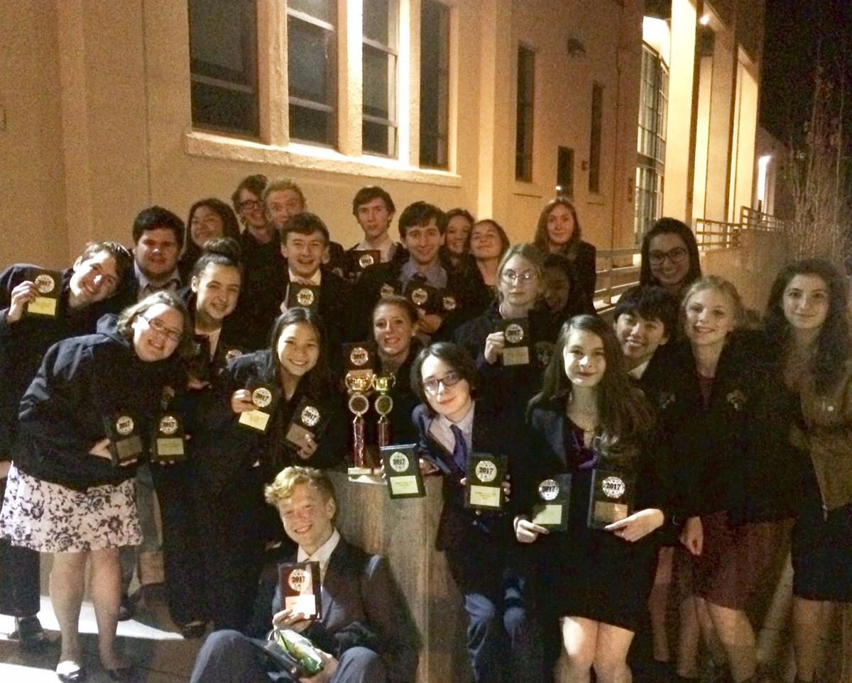 Marshfield forensics team wins over weekend