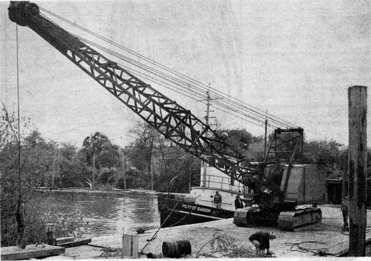 May 22, 1952, stripping at Coast Minerals Mine