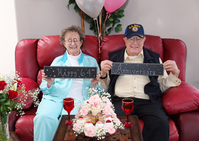 Eugene and Marcien Brown 64 anniv.png