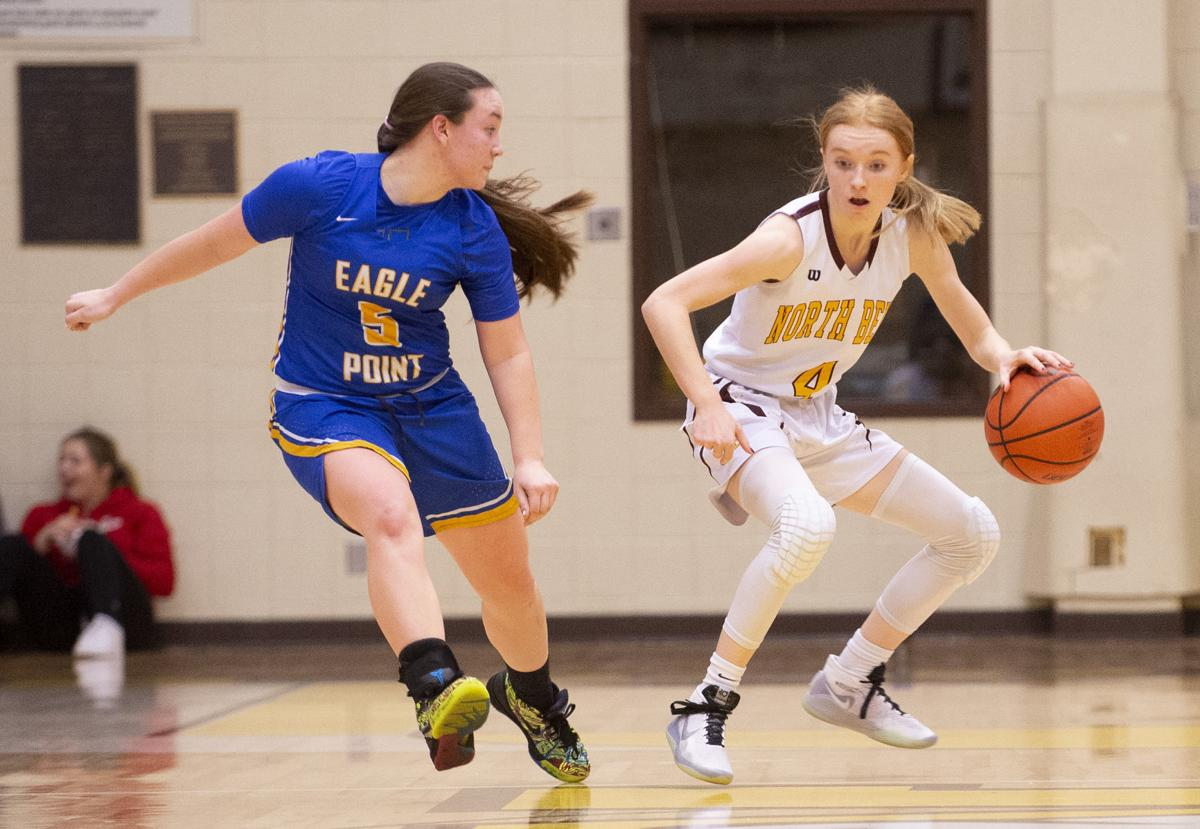 North Bend Girls Basketball Vs. Eagle Point