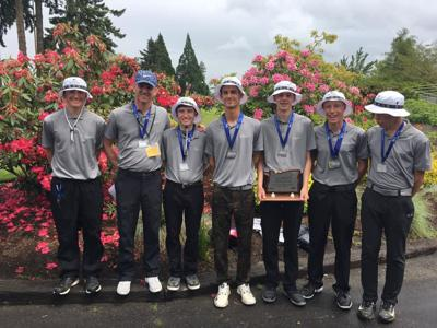 Bandon boys golf team places second at state