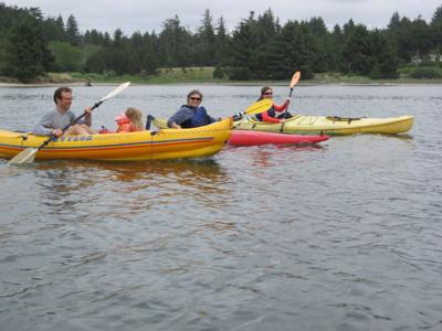 Kayaking the esturary