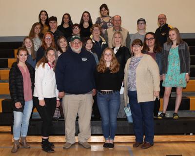Bandon High School Community 101 class and grant recipients