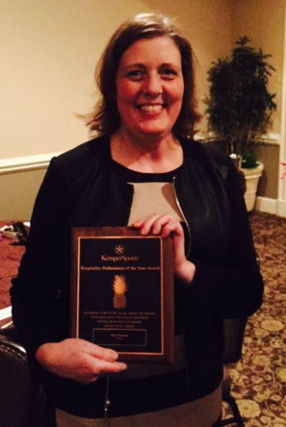 Darla Hamblin honored