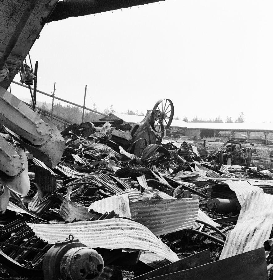 FSP Mill fire September 1957