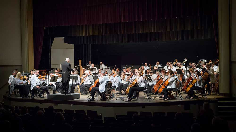 OCMA Orchestra Maestro James Paul
