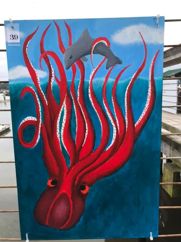 Port of Bandon Boardwalk Art Show