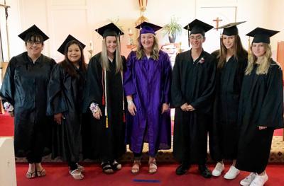 Holy Trinity Catholic Church honors graduates