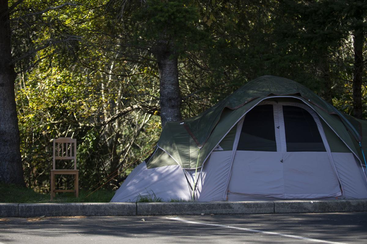 Church Homeless Camp