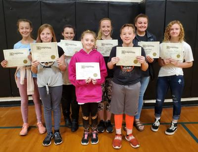 Harbor Lights Middle School Students of the Month