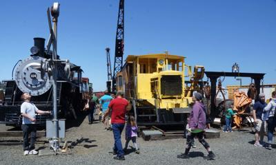 Train Day Oregon Coast Historical Railway