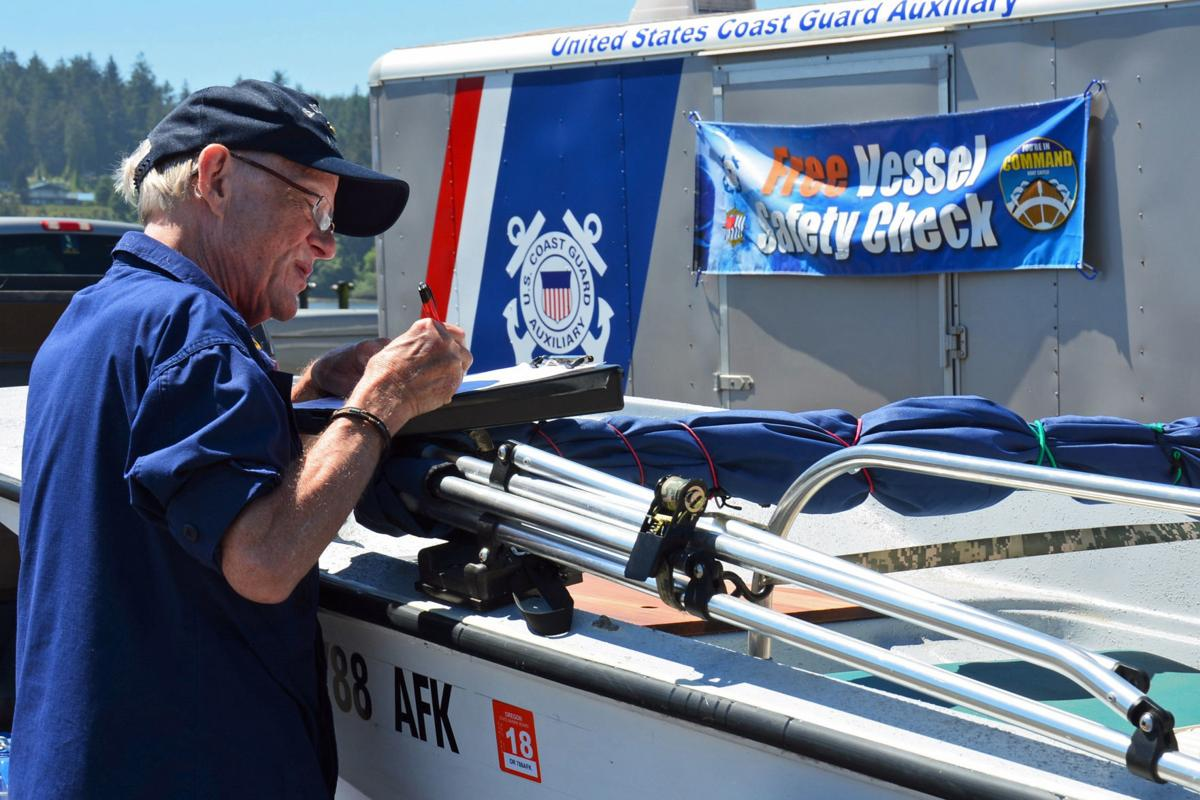 Vessel Safety Check by Deborah Heldt Cordone USCGAUX PA3