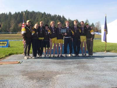 North Bend cross country champions