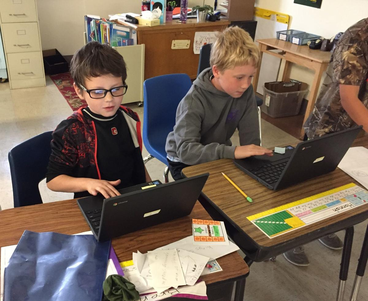 Student technology upgraded in Port Orford