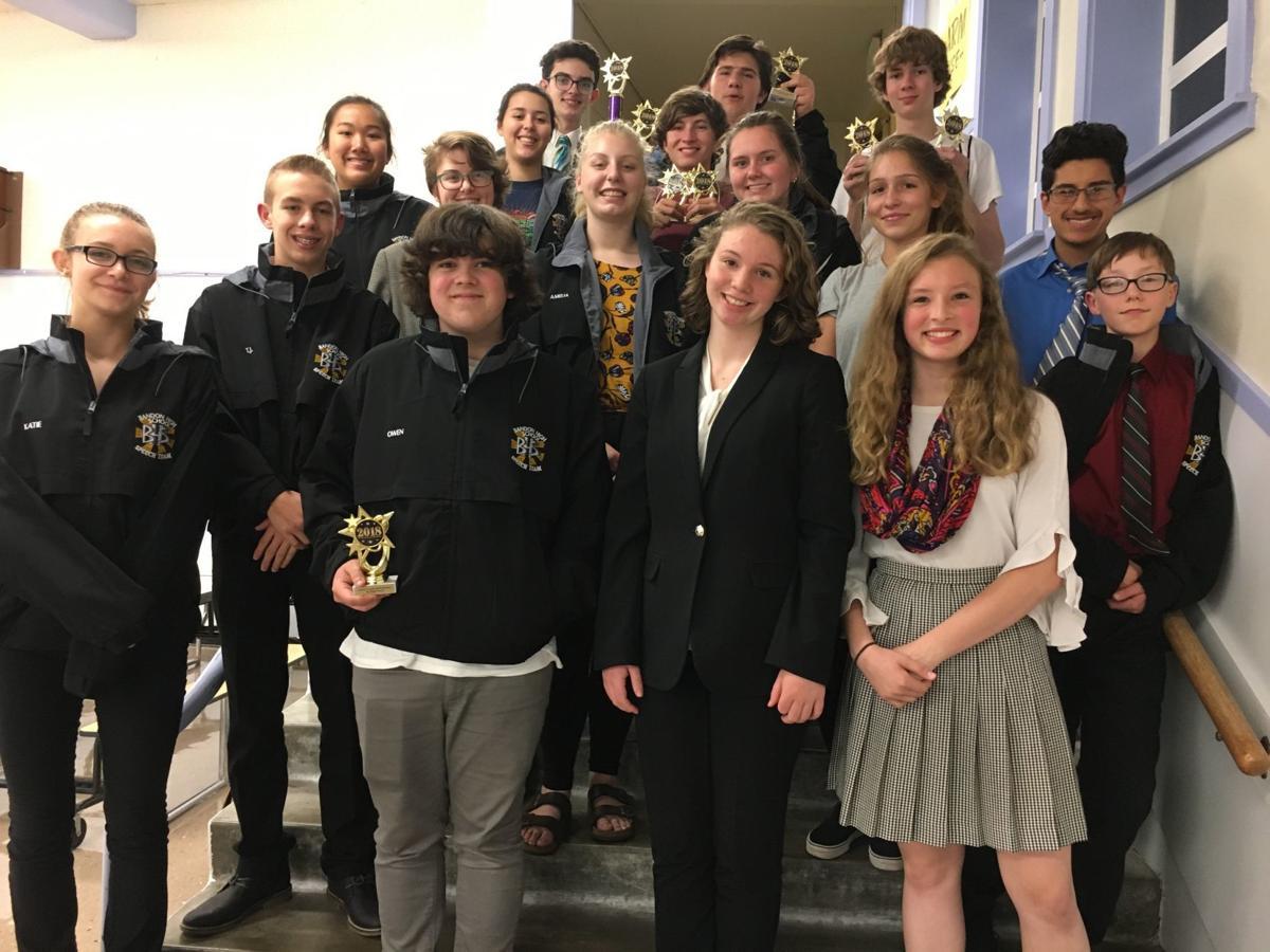 BHS Speech Team 2018-19