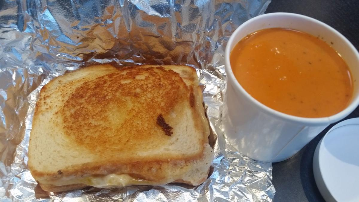 Sea Level grilled cheese