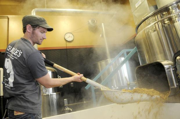 Spent brewing grain for turkeys