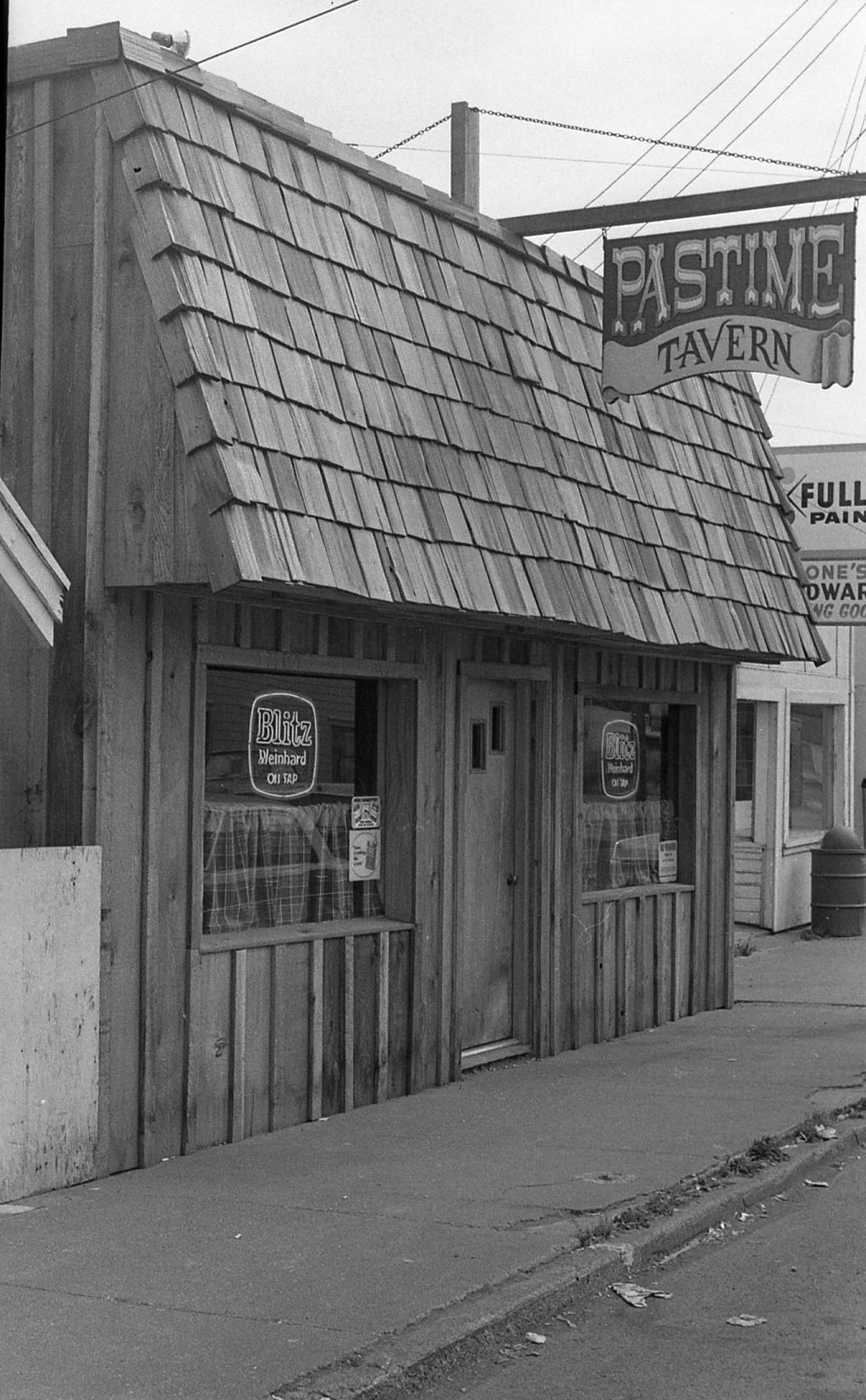 As I See It, Pastime Tavern, 1960s