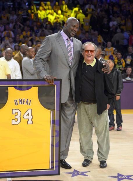 Lakers retire Shaq's jersey   Sports   theworldlink.com