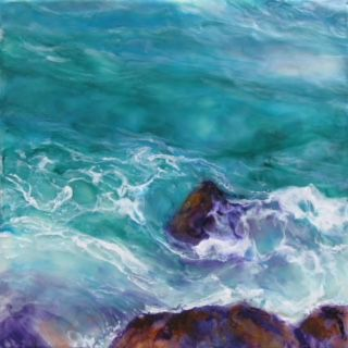 'Watery Froth Patterns' by Pat Cink