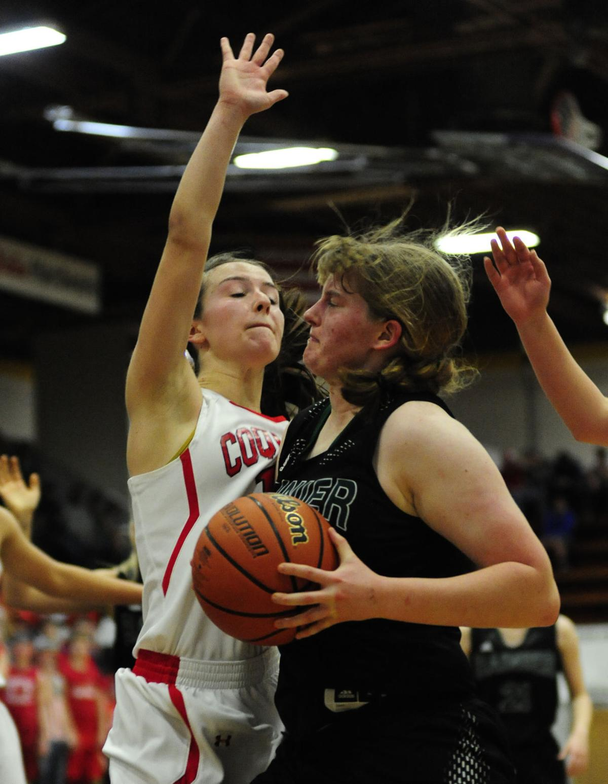 OSAA 3A Girls Basketball State Championship: Coquille takes on Rainier