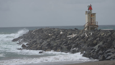 Bandon's foghorn on the South Jetty