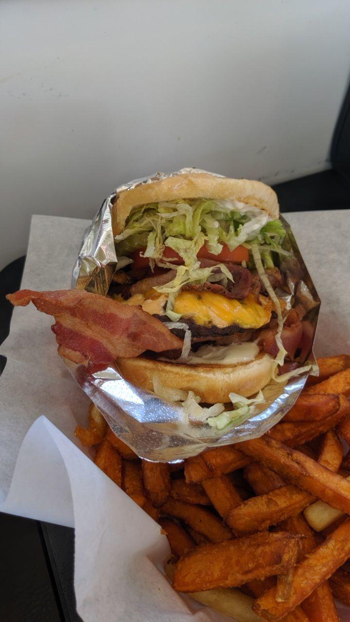 yeong's trifecta burger