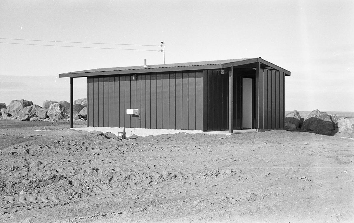 South Jetty restroom, April 1965