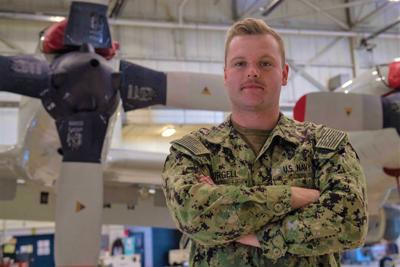 Bandon native gathers intelligence from the air for U.S. Navy