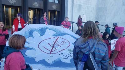 Jordan Cove Capitol Protest