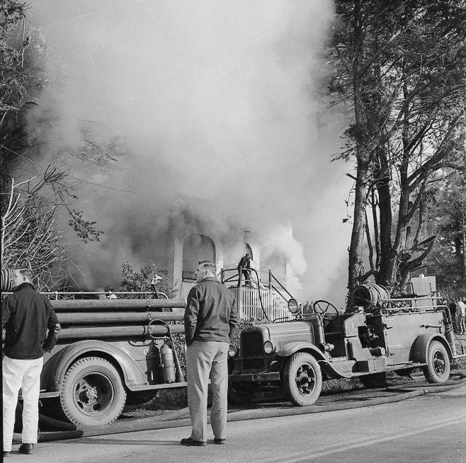Kronenberg office fire, 1956