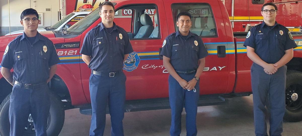 Coos Bay Fire Department resident intern firefighting program