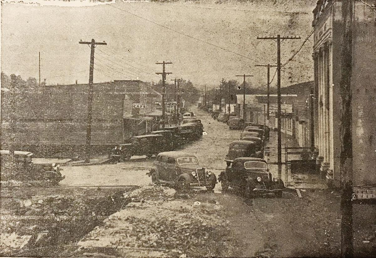 Bandon, 1936 rebuilding after the fire