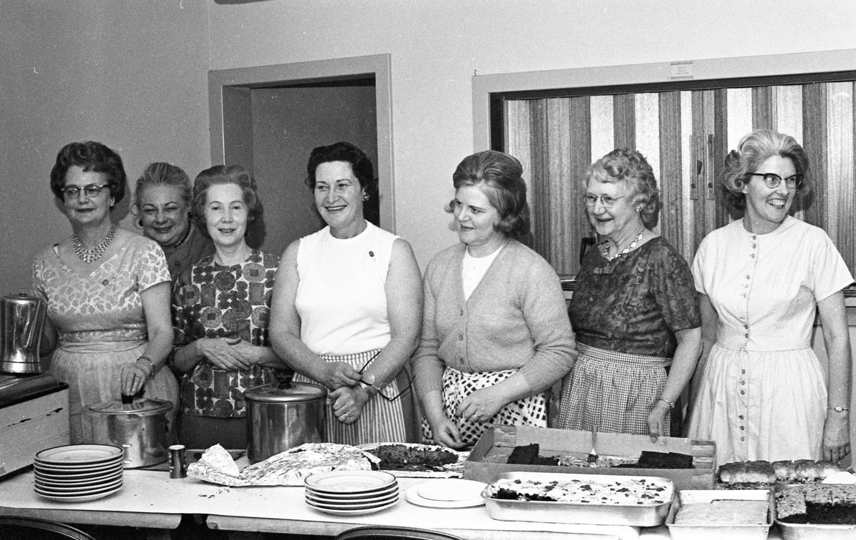 Soroptimist scholarship dinner, February 1965