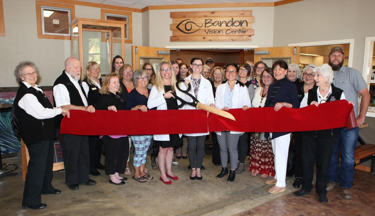 Bandon Vision Center ribbon cutting