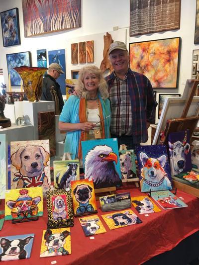 Artists Jeanne and Tod Steele