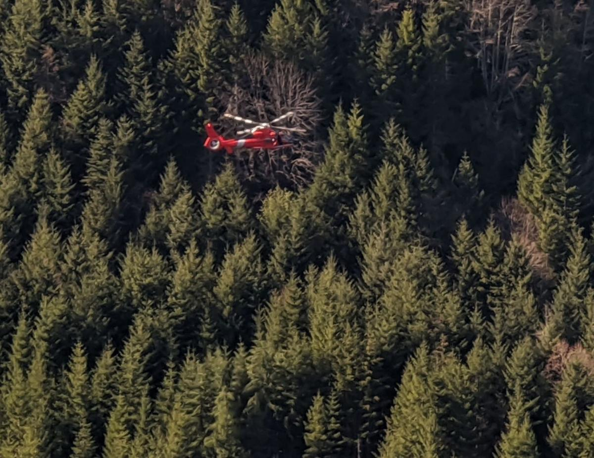 Missing man rescued near Loon Lake