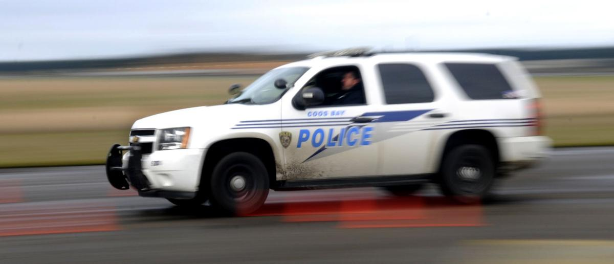 Coos Bay Police Car - WEB ONLY