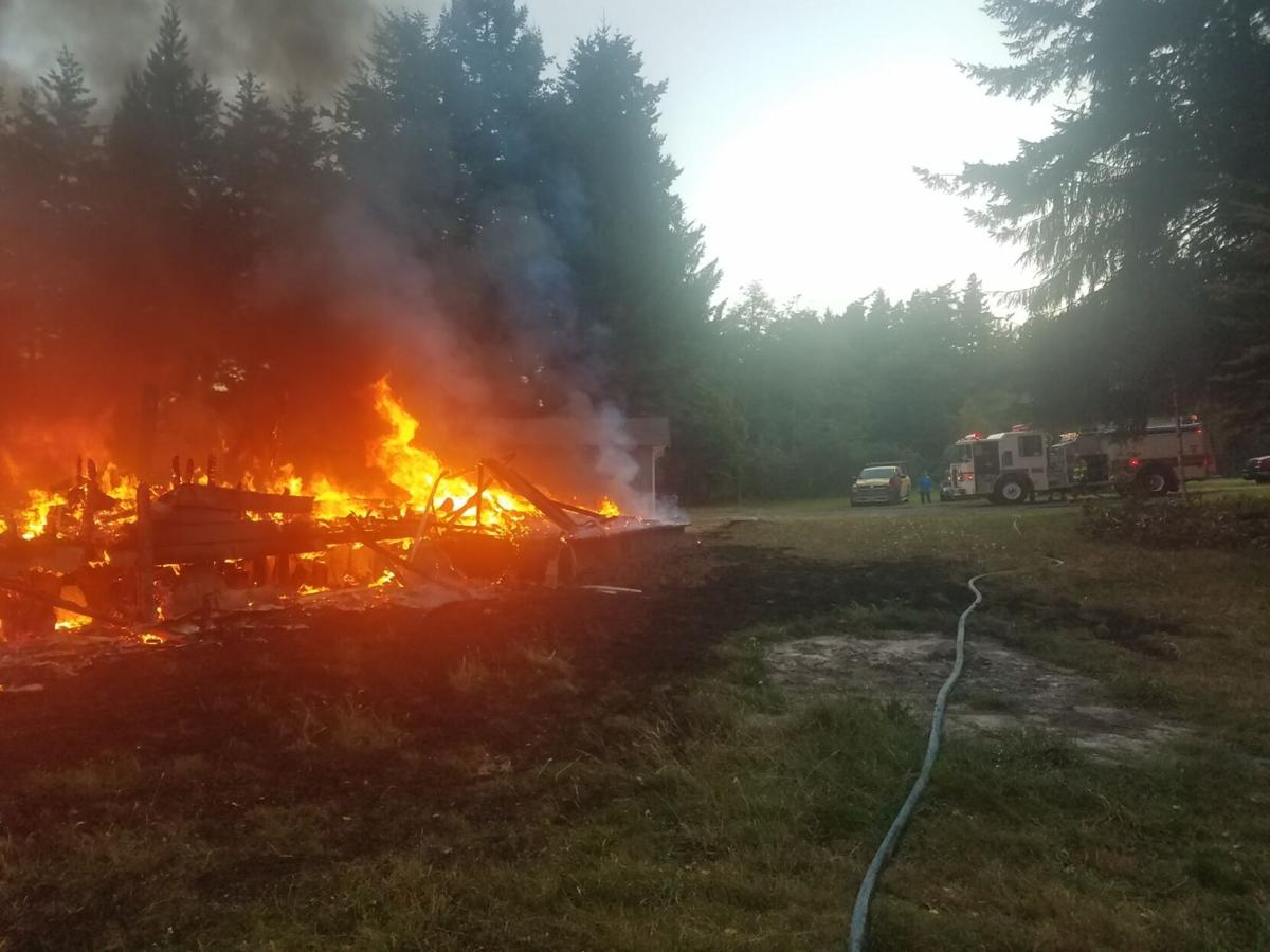 Langlois house fire