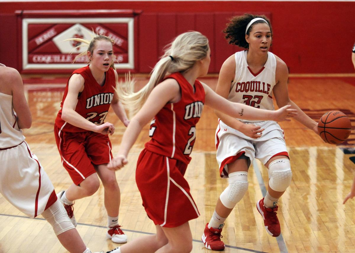 Coquille Girls Vs. Union