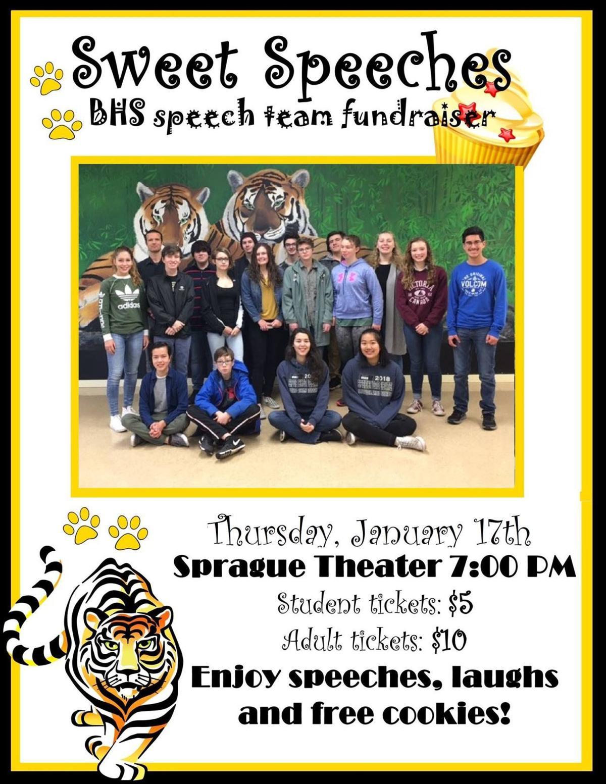 Bandon High School Sweet Speeches