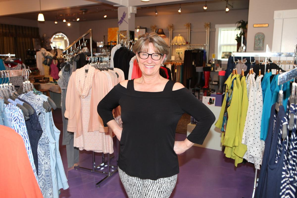 651b3f7416a52 Devon Matsuda and her husband Stan Denys own Devon's Boutique, a women's  clothing store at 92 Second St. SE, in Old Town. The couple will celebrate  their ...