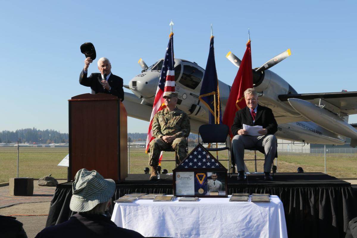 Mohawk dedication ceremony