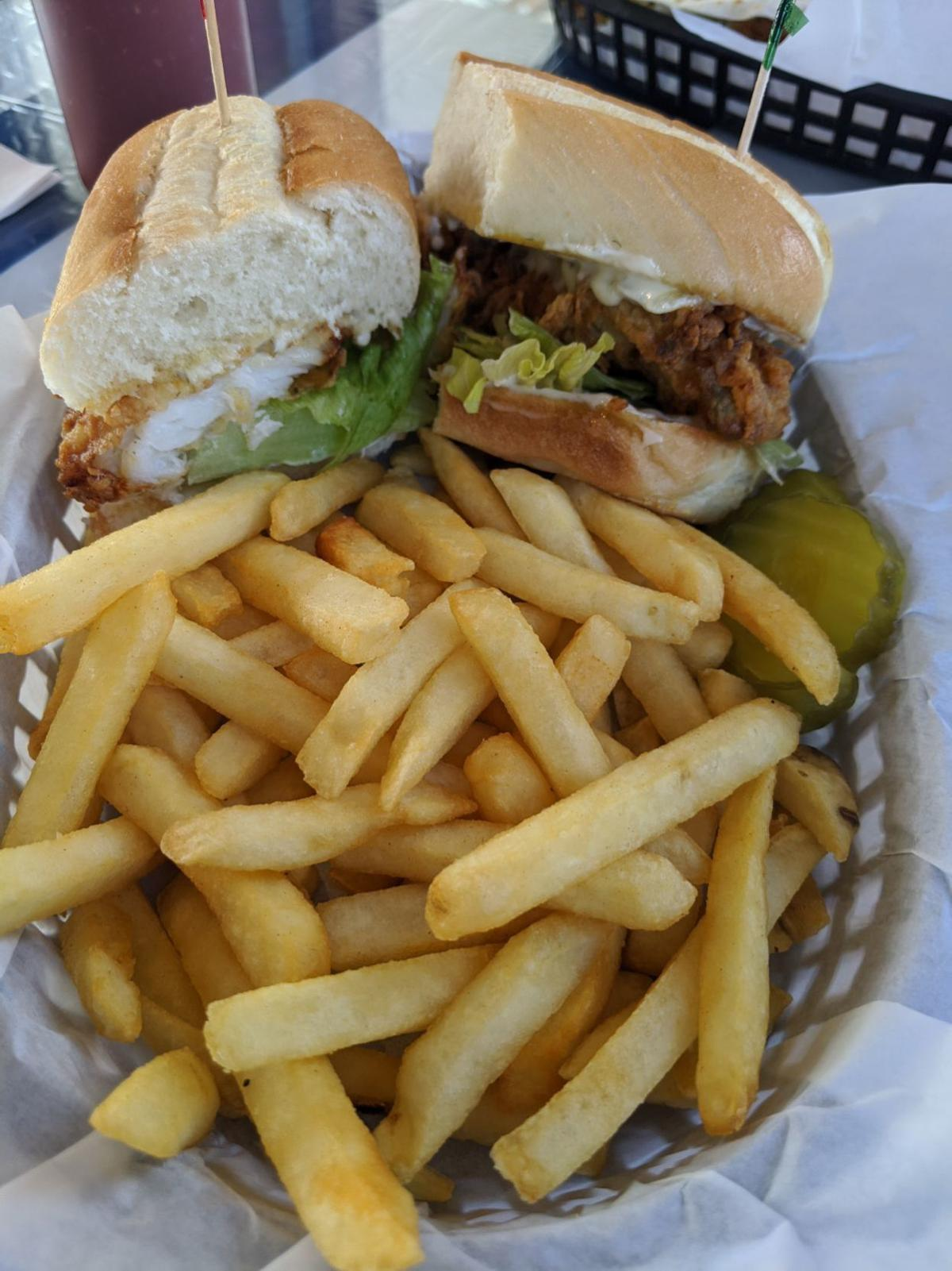 the boat fish sandwich