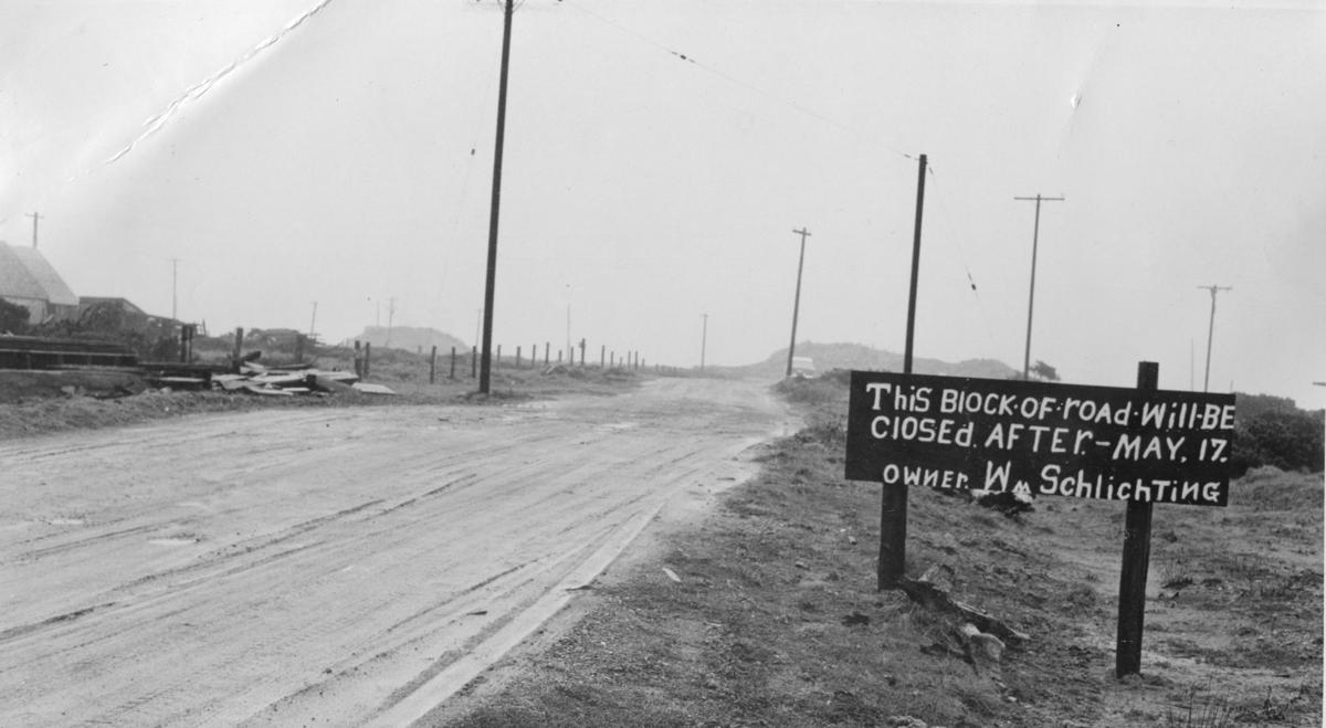 South Jetty Road closure, 1957