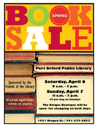 Port Orford Book Sale