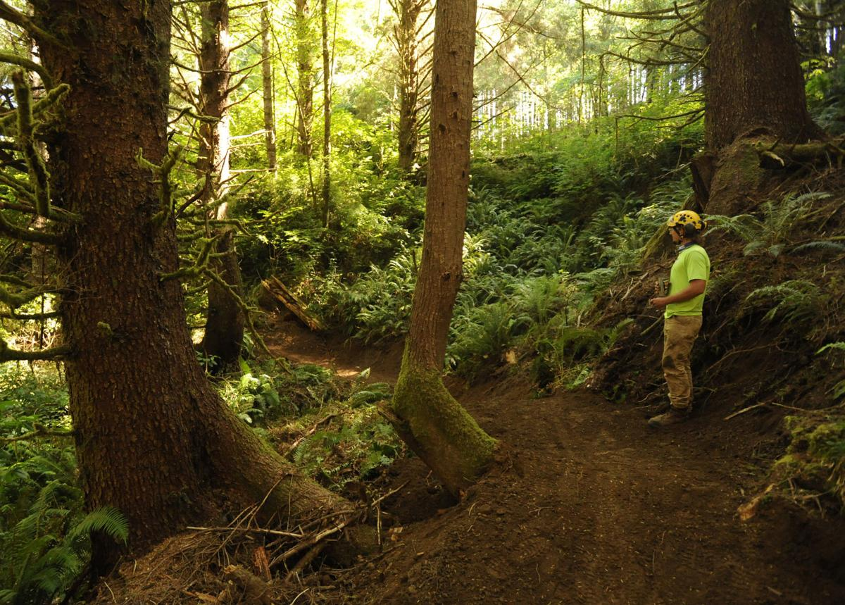 11-mile nonmotorized trail under construction