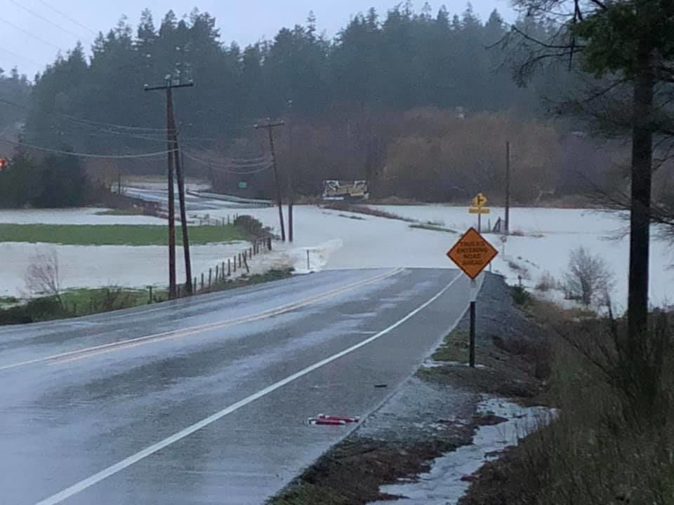 Flooding at Four Mile Creek