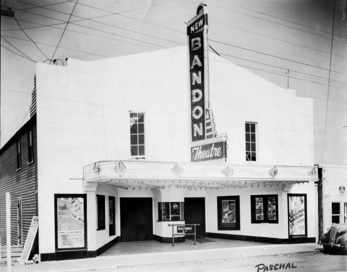 The New Bandon Theatre in the late 1930s