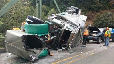 Semi driver cited in Scottsburg Bridge crash | Local News